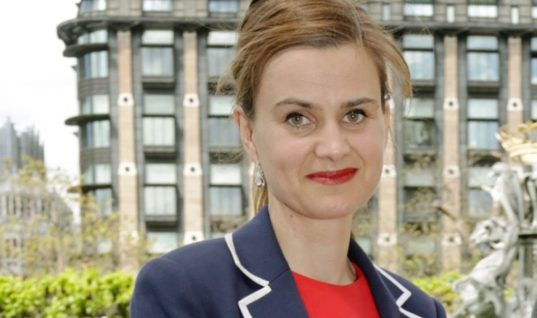 'Britain First': Jo Cox shot three times and stabbed to death