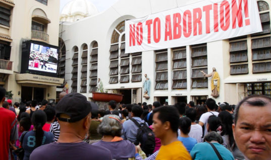 Your Religion Is Killing Your Country, Not Abortion