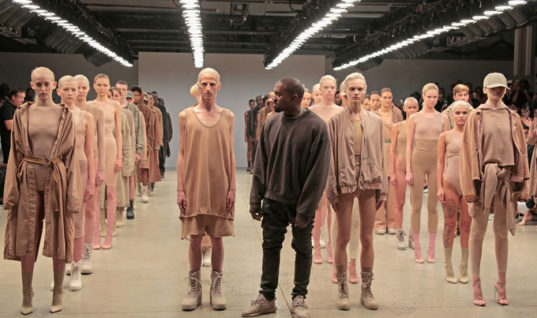 Kanye West Only Wants Multiracial Models & Rejects White People From Casting