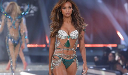 Jasmine Tookes Is The First Black Woman In 10 Years Chosen To Wear The Victoria's Secret Fantasy Bra