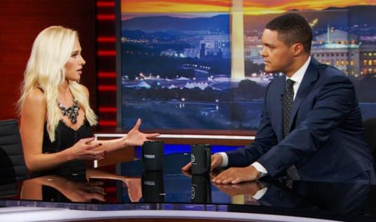 Watch Trevor Noah Drag Tomi Lahren To Hell And Back