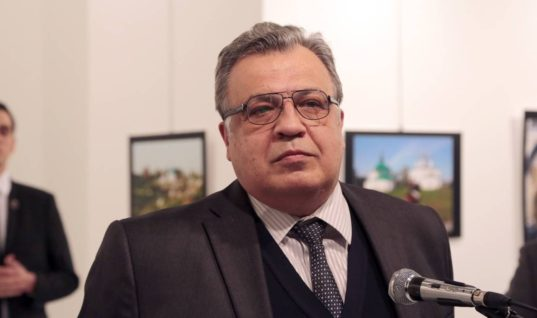 """Russia's Ambassador To Turkey Has Been Fatally Shot, In What Russia Calls A """"Terrorist Attack"""""""