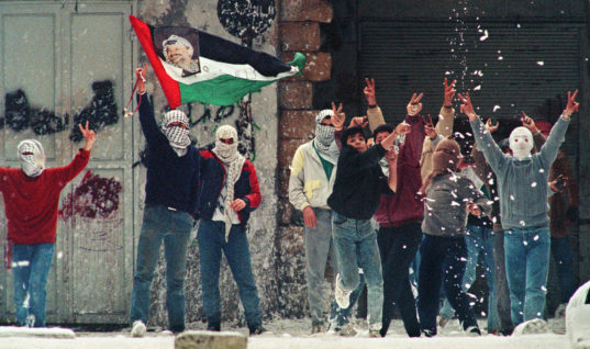 Shaking off the Oppressor: A Look Back at the First Palestinian Intifada