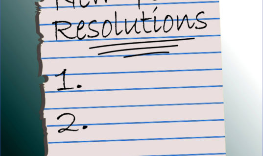 Don't Let Your New Year's Resolutions Go to Waste