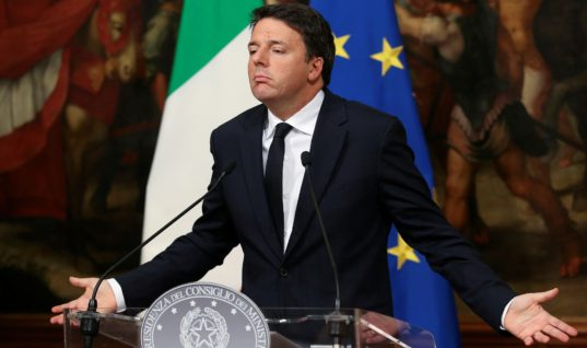 Italy Just Had Their Own Brexit — Prime Minister Resigns