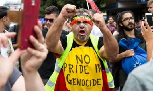 While Some Celebrated Australia Day, Others Marched to #ChangeTheDate