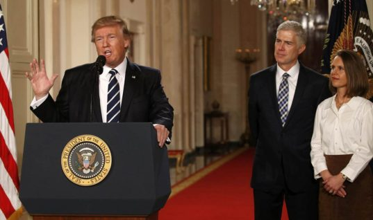 Neil Gorsuch is Trump's Supreme Court Pick