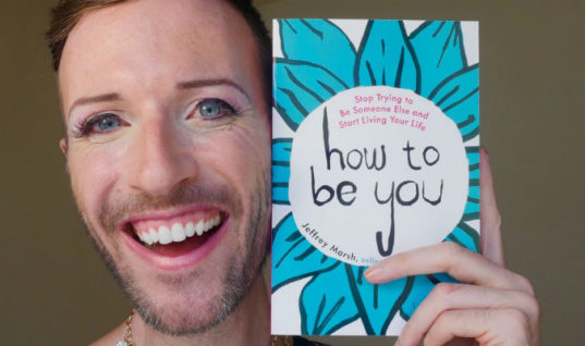An Exclusive Interview With Social Media Inspiration Jeffrey Marsh: a Conversation on Gender, Sexuality & Loving One's Self
