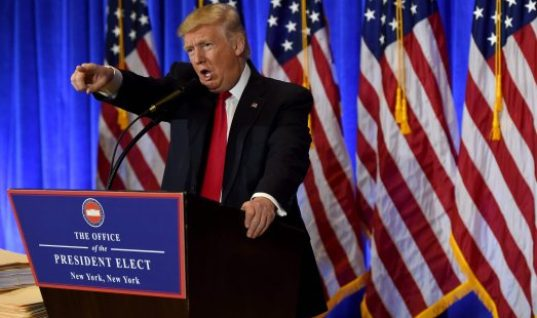 President-Elect Trump Held a Press Conference in New York