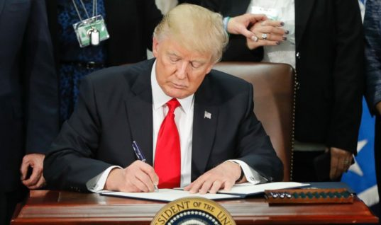 Do Not Let Trump's Flow of Executive Orders Overshadow His Previous Ones