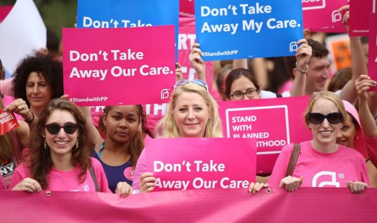 87K Petitions from Planned Parenthood Blocked by Security Guards
