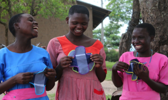 Bringing Dignified Periods to Girls One Reusable Pad at a Time