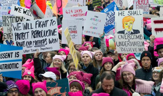 To Our Anti-Feminism Ladies: We're Still Going to March For Your Rights