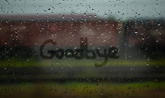Learning To Say The Final Goodbye