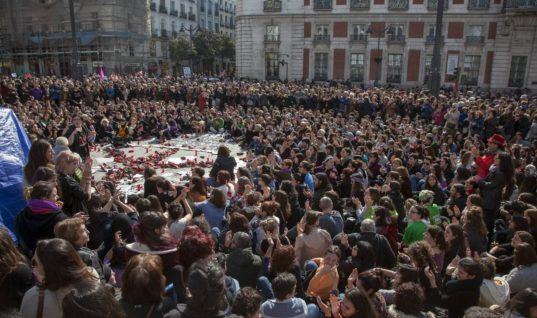 Spanish Women On A Hunger Strike: We Want Ourselves Alive