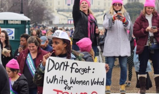 The Women's March on Washington was Actually Really Problematic