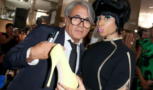 After Not Paying Up, Nicki Minaj Accuses Giuseppe Zanotti of Racism