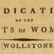 Early Feminism: Mary Wollstonecraft's Perspective on Equality of the Sexes