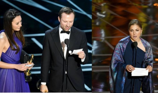 """Why the Oscar Wins of """"The Salesman"""" and """"The White Helmets"""" Are So Symbolic"""