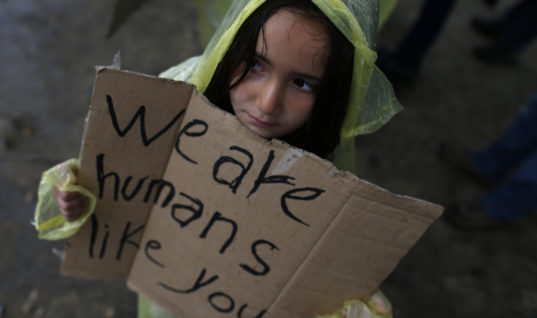Think of the Children – The Cost of War on the Young and Vulnerable