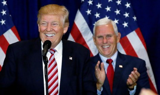 Here's A Joke — Mike Pence and Donald Trump Both Claim To Be Pro Life