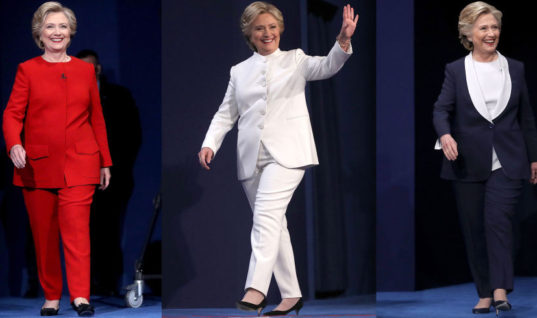 Why Do Female Politicians Wear Pantsuits to Seem More Powerful?