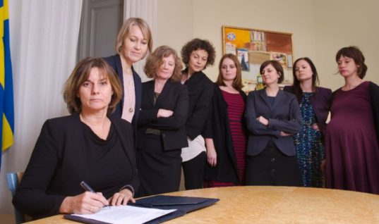 Sweden Challenges Trump, Publishes Fearlessly Feminist Photo