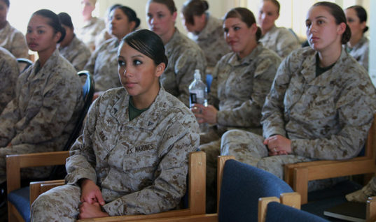 The U.S. Marines Are Under Investigation For Leaking Nude Photos Of Female Members