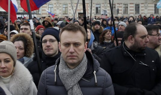 Hundreds in Jail at Russia's Biggest Protest Since 2012