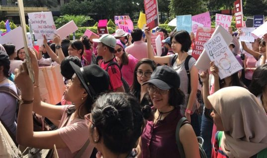 Indonesia : Women's March Jakarta, One Step Towards Equality