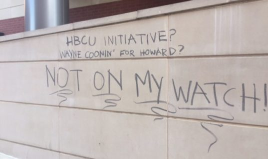 Howard University Students Resist the POTUS and Their Own Administration