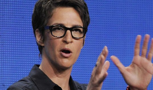 Rachel Maddow Acquired Trump's Tax Forms