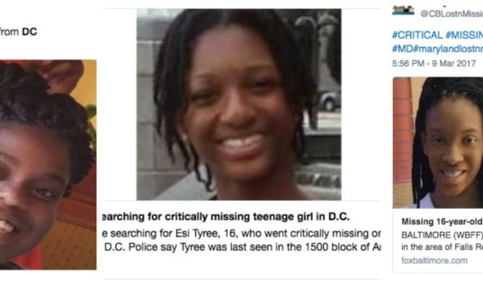 Black Girls Are Going Missing Everyday, And Nobody Is Doing Anything About It