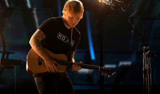 Ed Sheeran Single Handedly Invents Music, Art and the Industry with Album 'Divide'