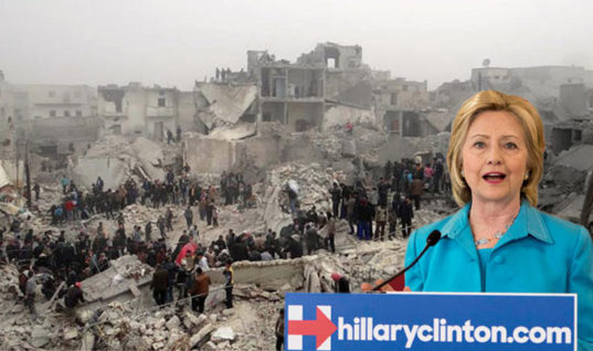Don't Pretend Like Warhawk Hillary Doesn't Support These Attacks on Syria