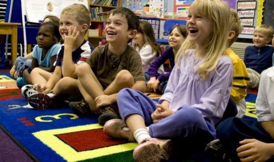 Pressure On Kindergartners: Let Them Learn