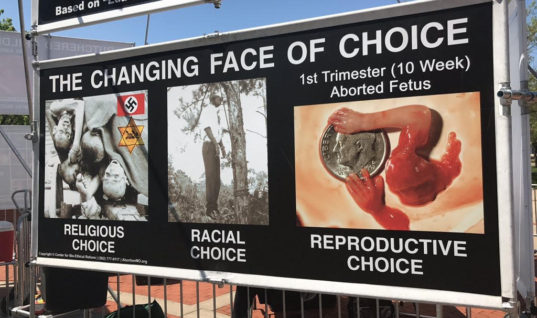 Display at Western Kentucky University Compares Abortion to the Holocaust, Lynching, and Executing Rape Victims