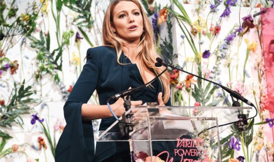 Blake Lively Brings Awareness to Child Pornography With an Emotional Speech
