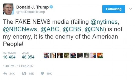 "Trump Didn't Invent ""Fake News"""