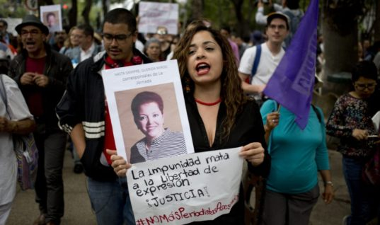 Being a Journalist In Mexico Remains a Life-Threatening Occupation