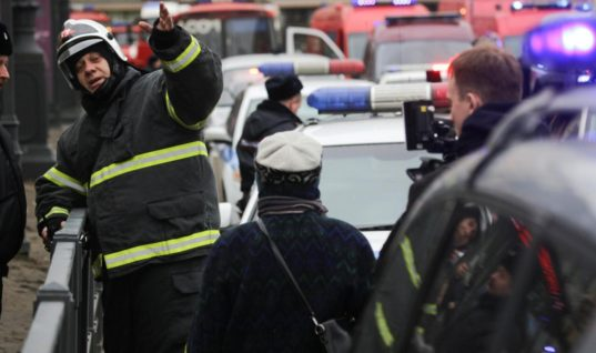 Ten Dead in St. Petersburg Blast in Russia
