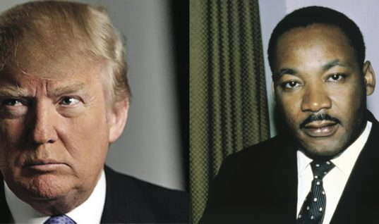 "Trump Is Dubbed the ""Martin Luther King of Healthcare"" Even After Threatening to Cut Subsidies"