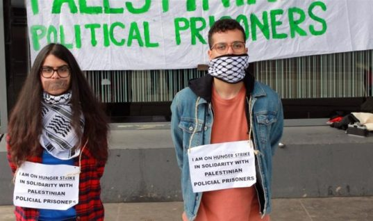 Please Join The Hunger Strike In Solidarity With Palestinian Political Prisoners And Palestinians At Large