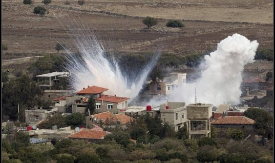U.S. Military Allegedly Uses White Phosphorus Near Syrian and Iraqi Civilians