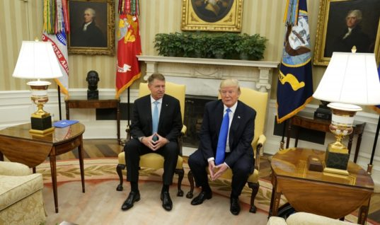 """During Press Conference With Romanian President, Trump Accuses Comey of Being A """"Leaker"""""""
