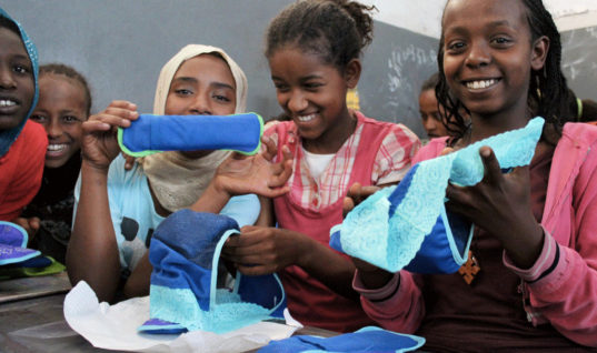 Kenyan Government is Promising to Provide Free Sanitary Napkins to Girls in School