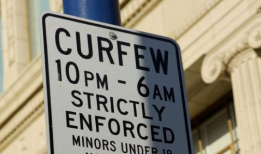If You Are A Minor, You Might Have A Local Imposed Curfew