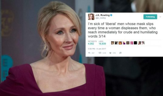 J.K. Rowling Stands Up For Theresa May and All Other Female Politicians on Twitter