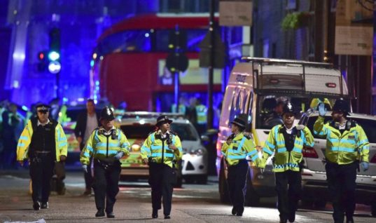 Police Are Currently Responding To Three Separate Attacks Happening In London