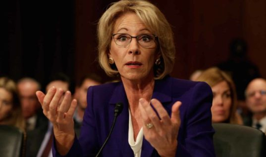 Betsy DeVos Consults Men's Rights Activists on Sexual Assault